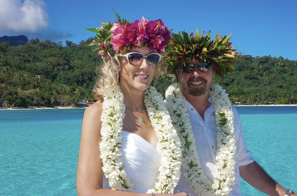 Jack & Carol – Civil Marriage & Traditional Tahitian Wedding